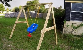 Diy Easycheap 2x4 Kids Swing Ideal For Ages 0 5 Youtube pertaining to 13 Clever Ideas How to Upgrade Backyard Swing Ideas