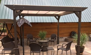 Diy How I Built A Simple Stand Alone Sun Shade Shelter Youtube pertaining to Backyard Structure Ideas