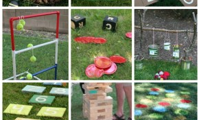 Diy Outdoor Games 15 Awesome Project Ideas For Backyard Fun in 12 Awesome Ideas How to Upgrade Backyard Camping Ideas For Adults