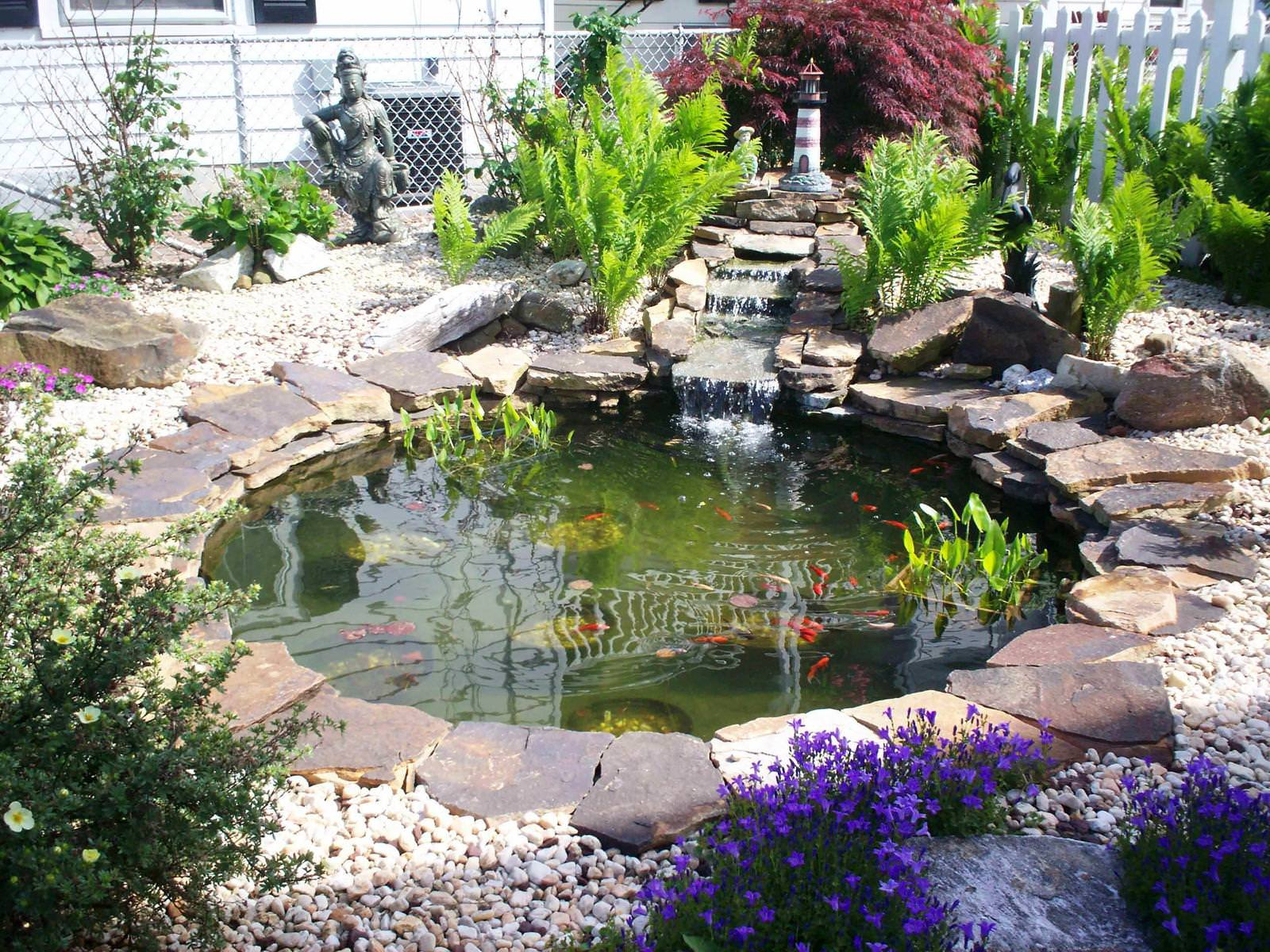 Easy Backyard Pond Kits Design And Ideas Beautiful Designs From Yard throughout Ponds Ideas Backyard