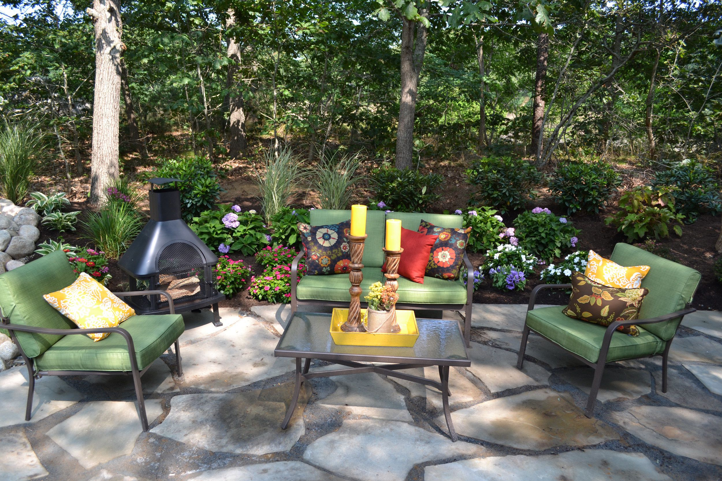 Easy Landscaping Ideas Low Maintenance Landscape Design Tips in Pictures Of Backyard Landscaping