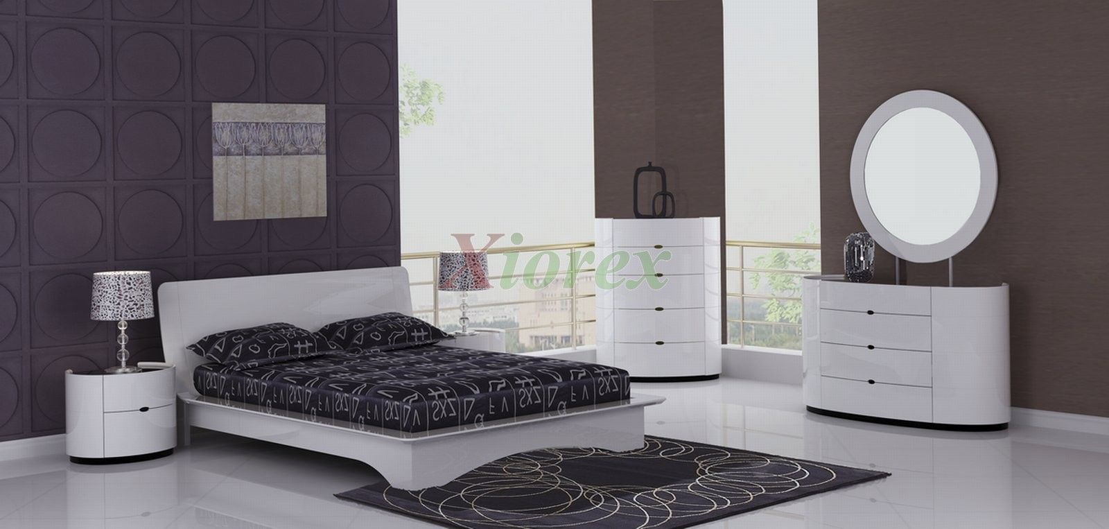 Eri All White Modern Bedroom Furniture Sets Canada Xiorex Eri All for White Modern Bedroom Sets