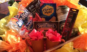 Fire Pit Backyard Bonfire Gift Basket Good For A Silent Auction Or with Backyard Gift Ideas