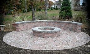 Fire Pit Landscaping Ideas Backyard Planning Design Dirt Around intended for Backyard Design Ideas With Fire Pit