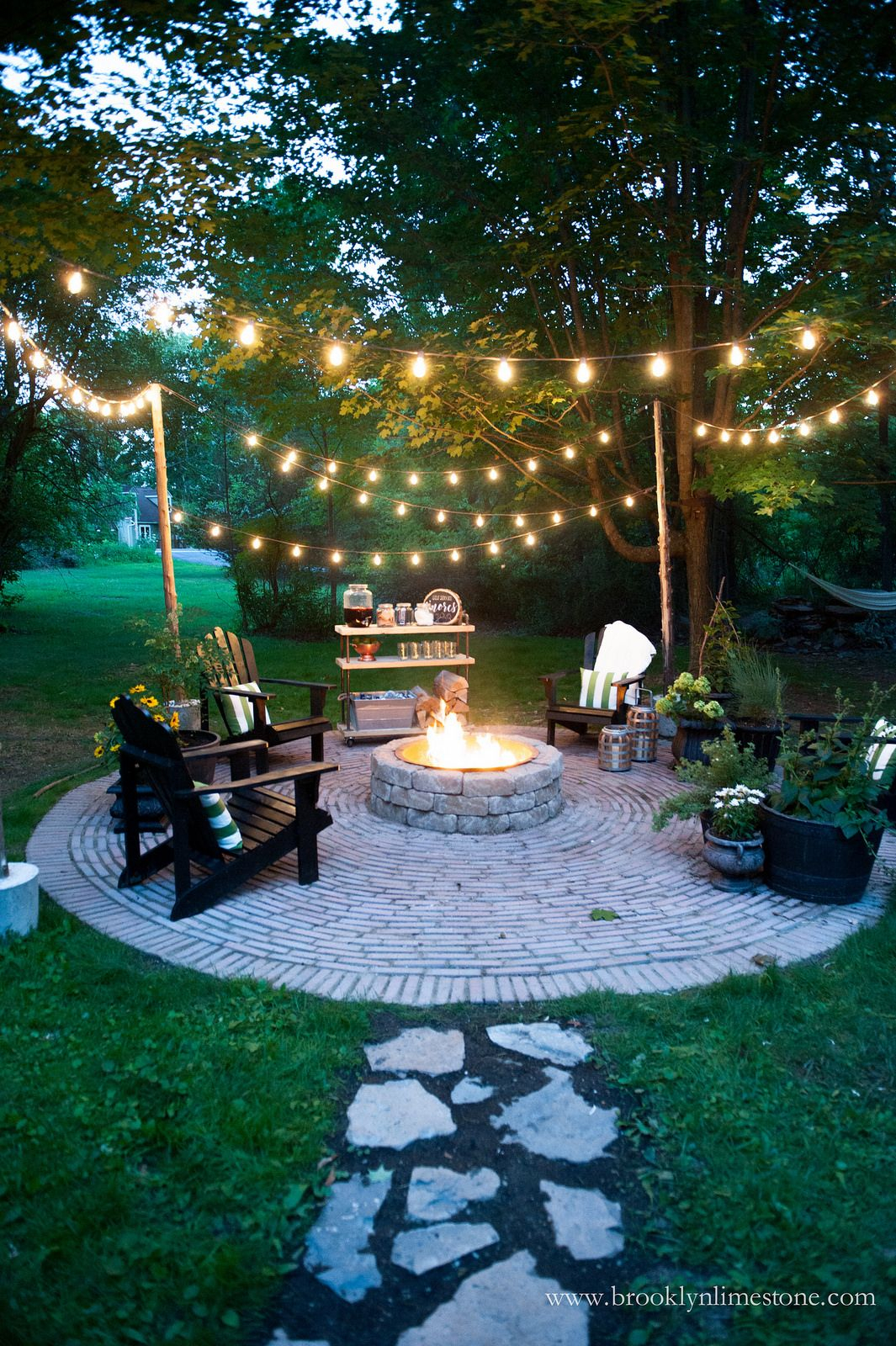 Firepit Patio Country Cottage Diy Circular Outdoor Entertaining regarding 10 Clever Designs of How to Craft Diy Backyard Fire Pit Ideas