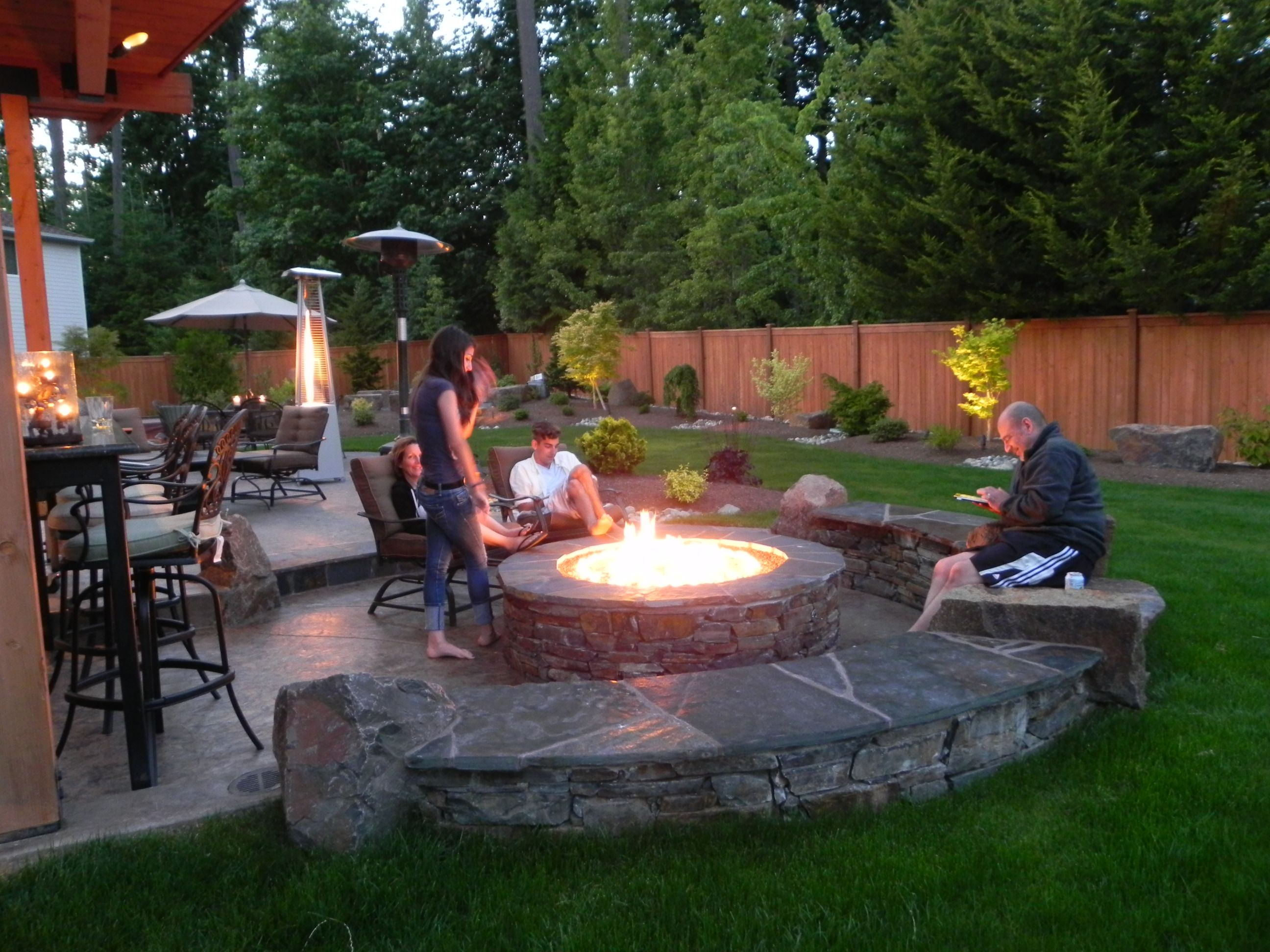 Fireplace Or Fire Pit Backyard Ideas Fire Pit Patio Backyard in 15 Smart Concepts of How to Make Fire Pit Ideas For Small Backyard