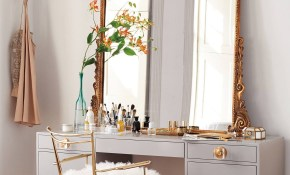 For The Beauty Room 10 Of Our Favorite Modern Makeup Vanity Tables within 13 Some of the Coolest Tricks of How to Improve Bedroom Vanity Modern