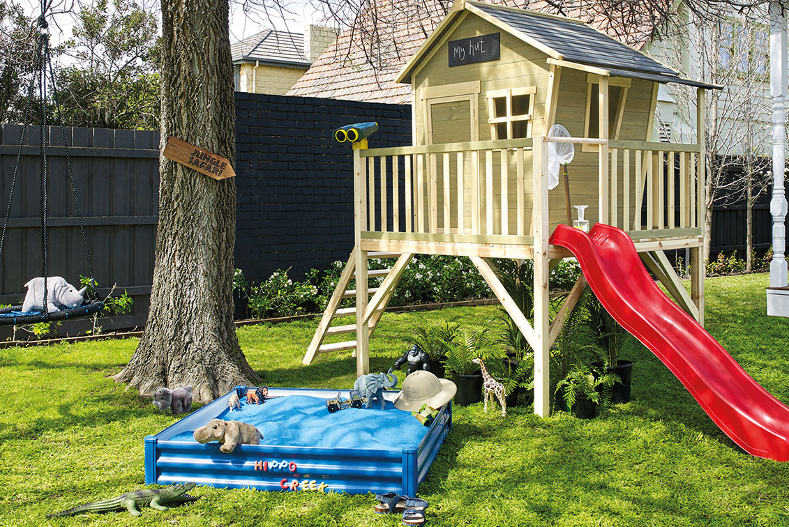 Four Diy Backyard Playground Ideas For You To Try Better Homes And for 10 Smart Initiatives of How to Build Cheap Backyard Playground Ideas