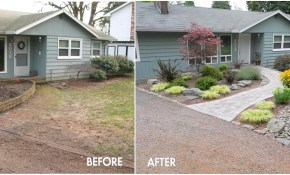 Front Yard Desert Landscaping Ideas On A Budget inside 10 Awesome Concepts of How to Craft Affordable Backyard Landscaping Ideas