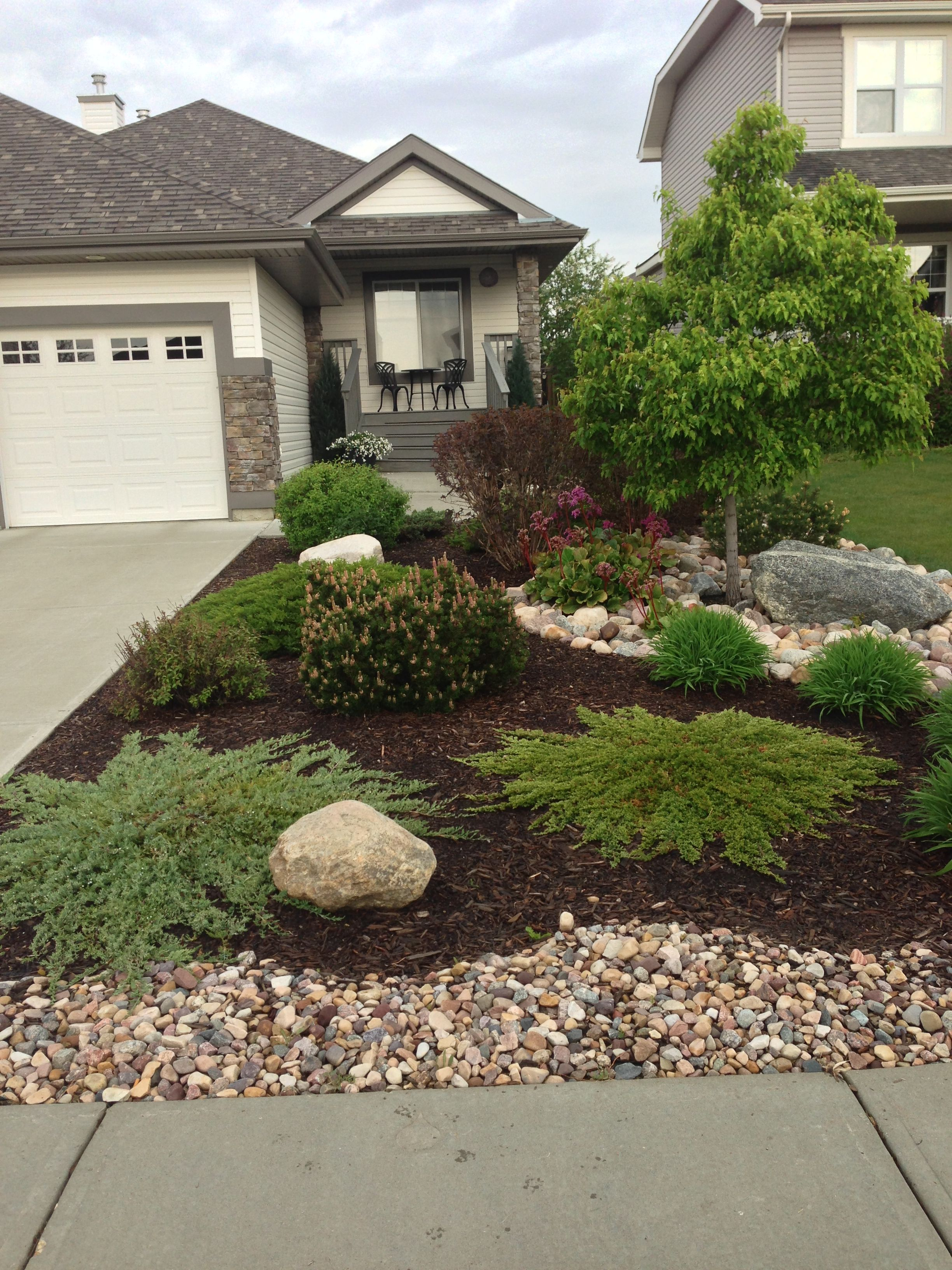 Front Yard Landscaping Ideas Curbappeal Small Front Yard regarding 13 Smart Concepts of How to Craft Backyard Landscaping Ideas With Stones