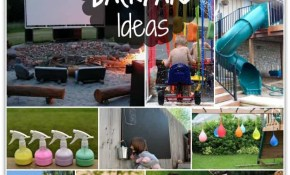 Fun Backyard Ideas These Diy Ideas Will Make Summertime A Blast for 15 Some of the Coolest Concepts of How to Craft Fun Backyard Ideas