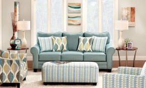 Furniture Of America Brubeck Living Room Set Costless Warehouse throughout Turquoise Living Room Set