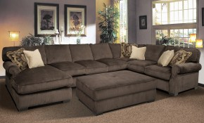 Grand Island Oversized Cocktail Ottoman For Sectional Sofa inside 11 Clever Tricks of How to Improve Oversized Living Room Sets