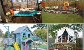 Great Diy Ideas For Outdoor Play Areas For Your Kids Style Motivation regarding 11 Some of the Coolest Concepts of How to Upgrade Diy Backyard Playground Ideas