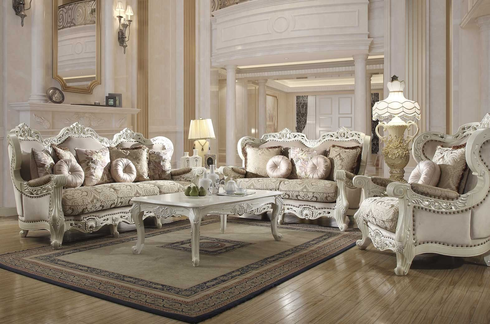 Hd 2657 Homey Design Upholstery Living Room Set Victorian European intended for 14 Clever Tricks of How to Improve Western Living Room Sets