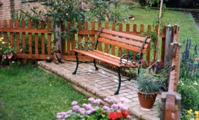 Home Wall Decoration Backyard Landscaping Ideas Reclaimed Dining Bench with regard to Backyard Wall Decorating Ideas