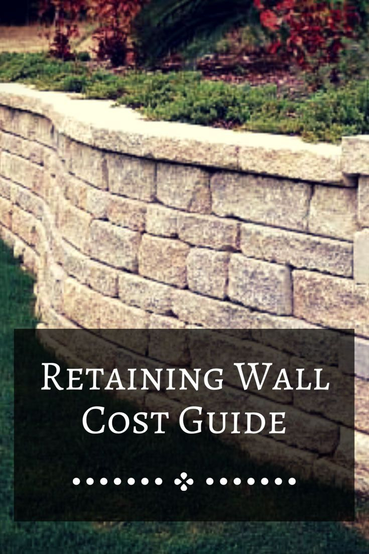 How Much Does It Cost To Build A Retaining Wall In 2019 Retaining intended for 11 Some of the Coolest Concepts of How to Upgrade How Much Does It Cost To Landscape A Backyard