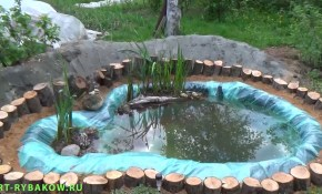 How To Build A Garden Pond Diy Project Full Video Youtube in Easy Backyard Pond Ideas