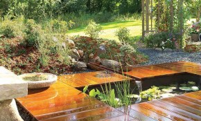 How To Build A Pond Easily Cheaply And Beautifully The Garden Glove regarding Easy Backyard Pond Ideas