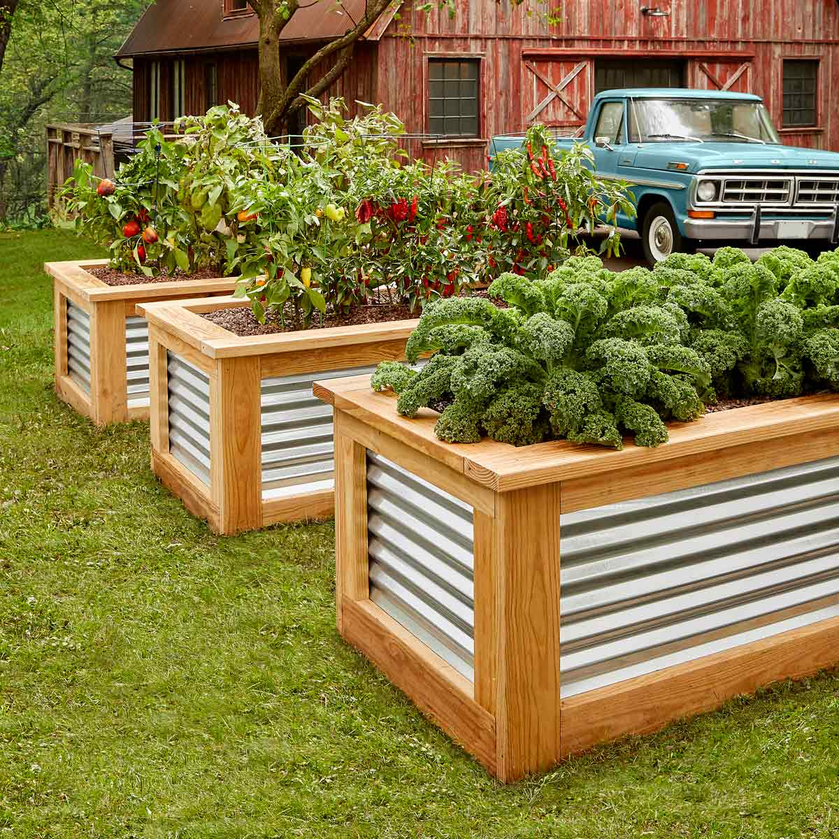 How To Build Raised Garden Beds Family Handyman The Family Handyman throughout 13 Clever Initiatives of How to Make Backyard Raised Garden Ideas