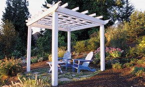 How To Make A Great Garden Trellis Or Arbor Sunset Magazine intended for Arbor Ideas Backyard