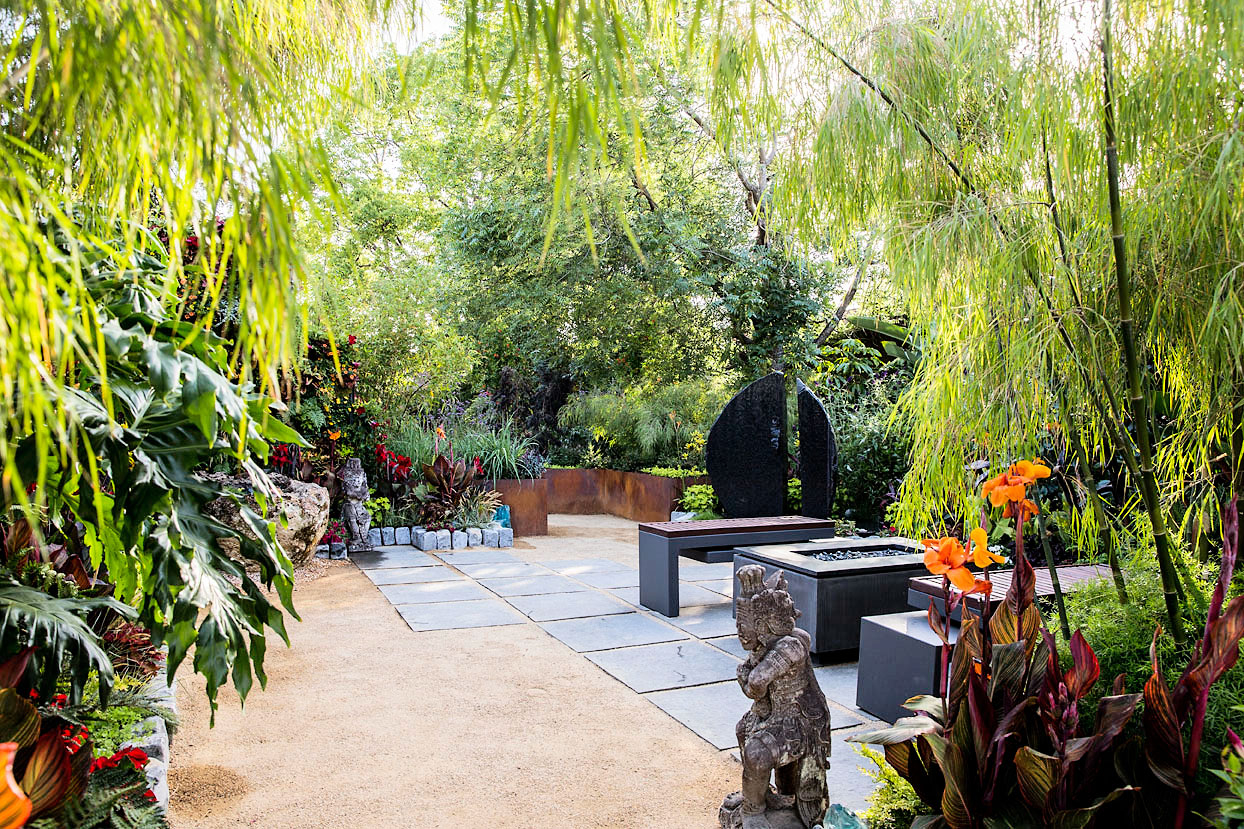 Ideas For A Tropical Garden Sunset Magazine pertaining to Tropical Landscaping Ideas For Backyard