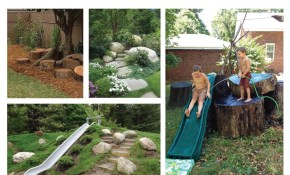 Ideas For The Most Family Friendly Backyard Ever Emily Henderson intended for Backyard Play Area Landscaping