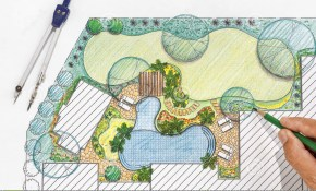 Landscape Architect Design Backyard Plan For Villa Stock Image with regard to Plan Backyard Landscaping