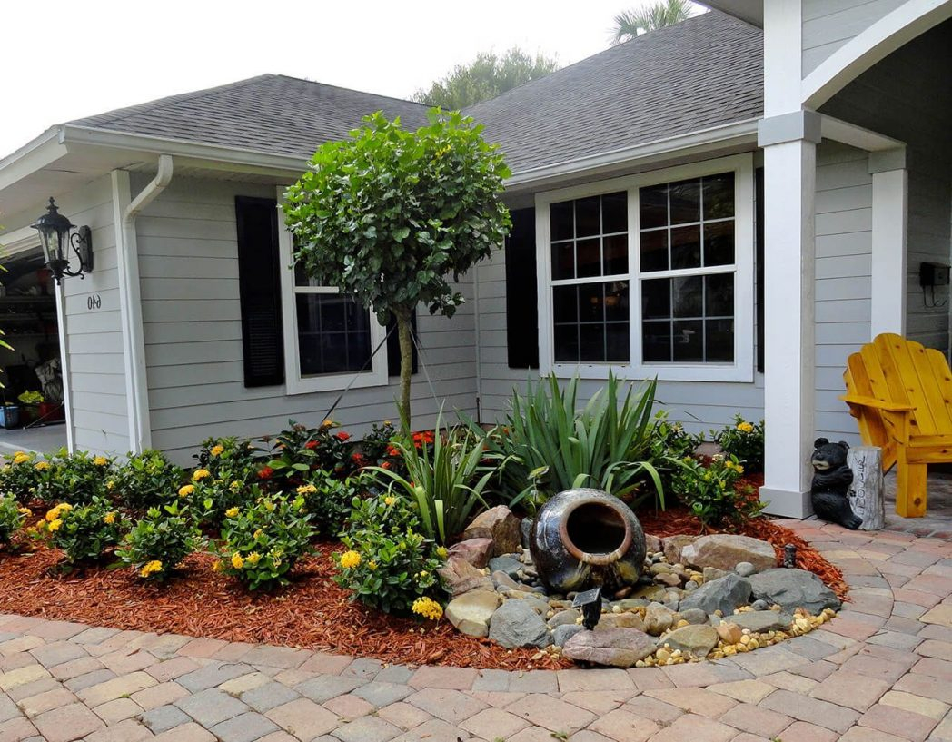 Landscape Design Ideas Front Garden Ide Of Yard Landscaping Small throughout Florida Backyard Landscaping