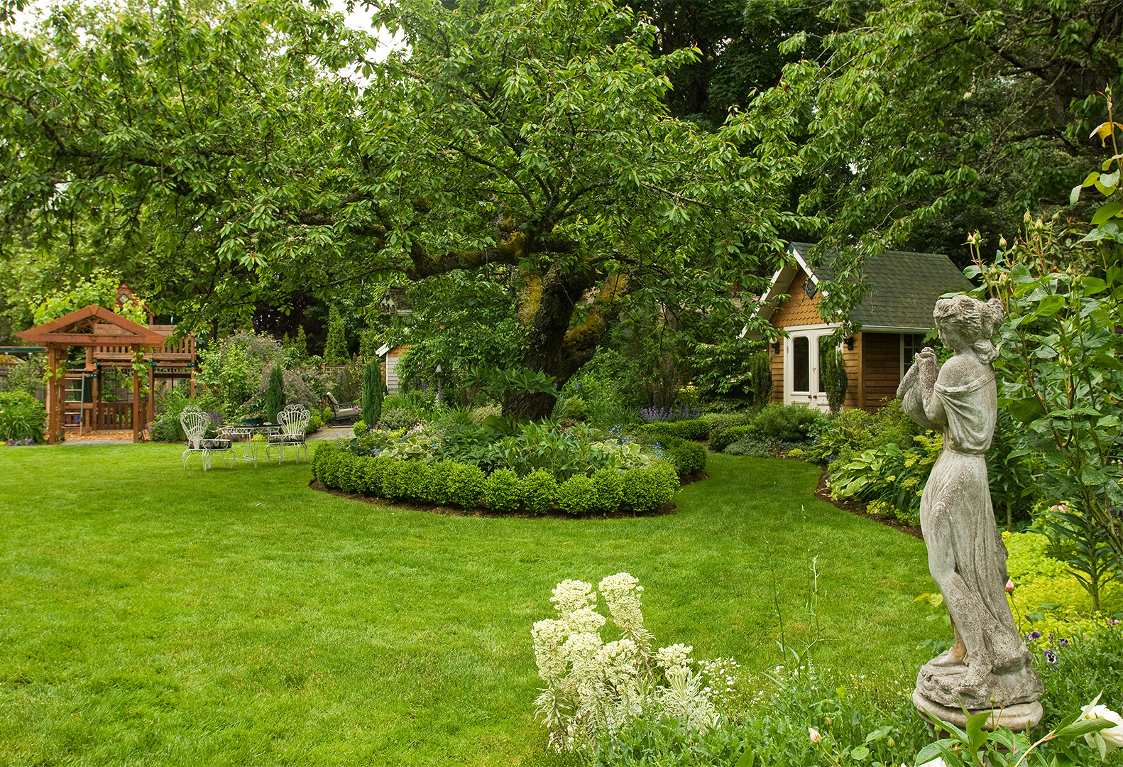 Landscape Plans Better Homes Gardens throughout Backyard Trees Landscaping Ideas