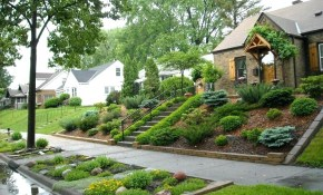 Landscaping A Hill Sloping Hill Landscaping Ideas Mkvmovieclub pertaining to Landscaping A Hillside Backyard
