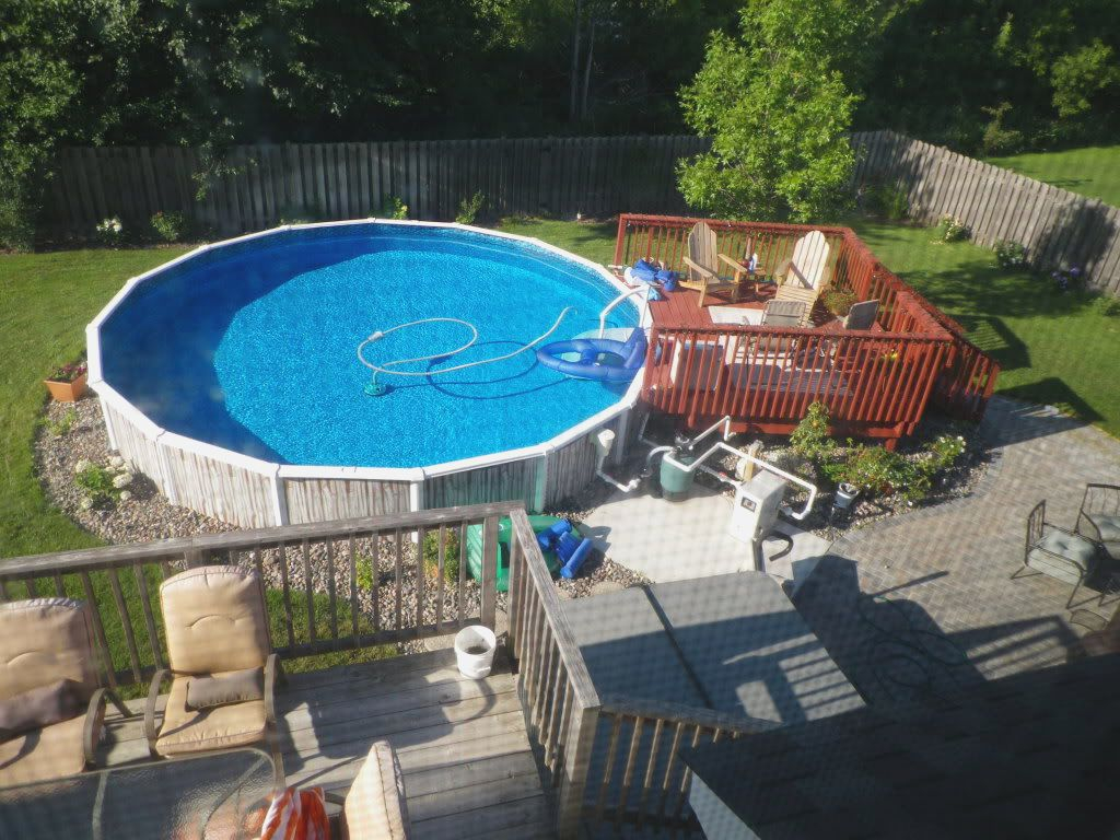 Landscaping Cool Above Ground Pool Landscaping For Backyard Ideas throughout 10 Awesome Tricks of How to Build Above Ground Pool Ideas Backyard