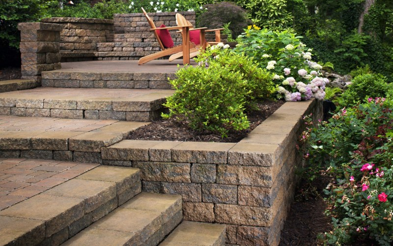 Landscaping Ideas For Hillside Backyard Slope Solutions Install with regard to Backyard Slope Landscaping