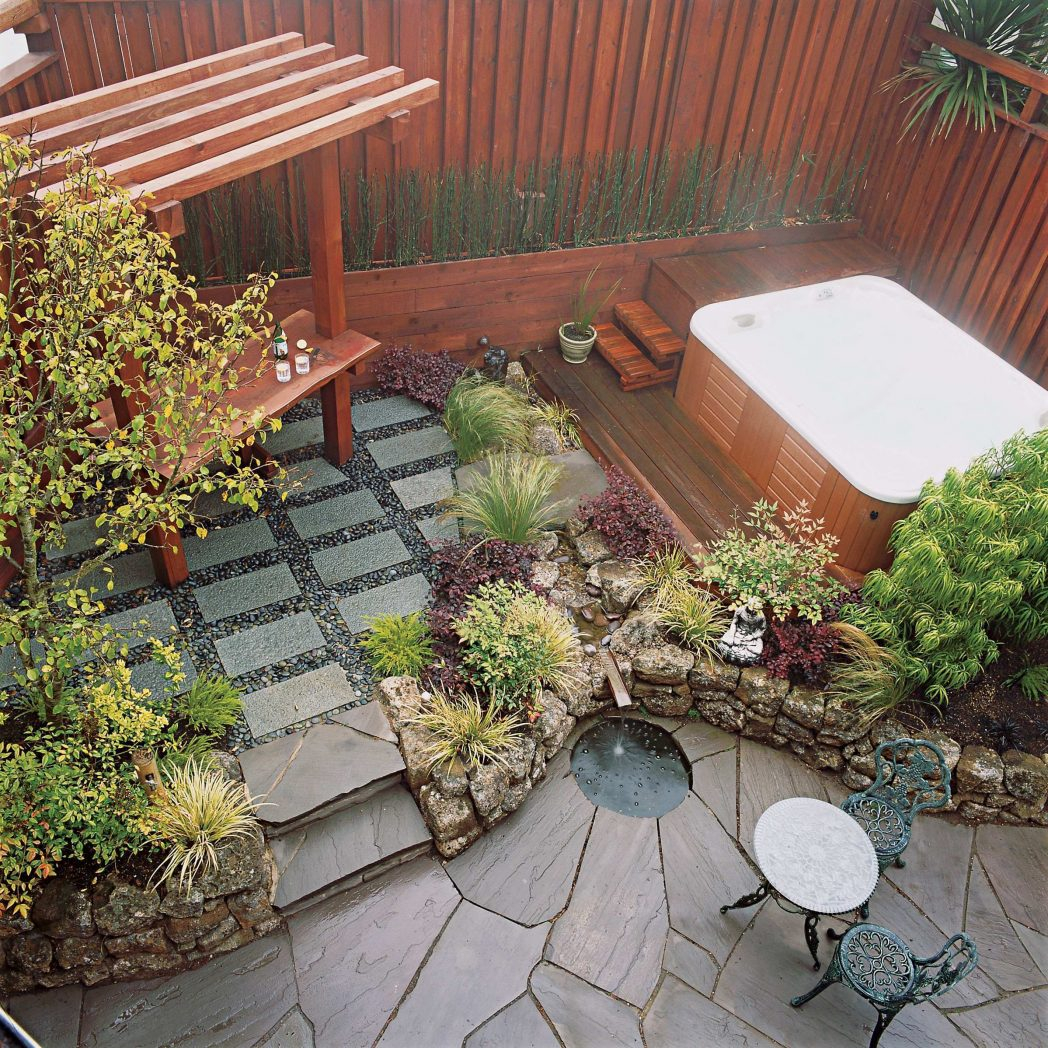 Landscaping Ideas Landscape Patio Small Simple Backyard On A Budget within Simple Backyard Landscape Ideas