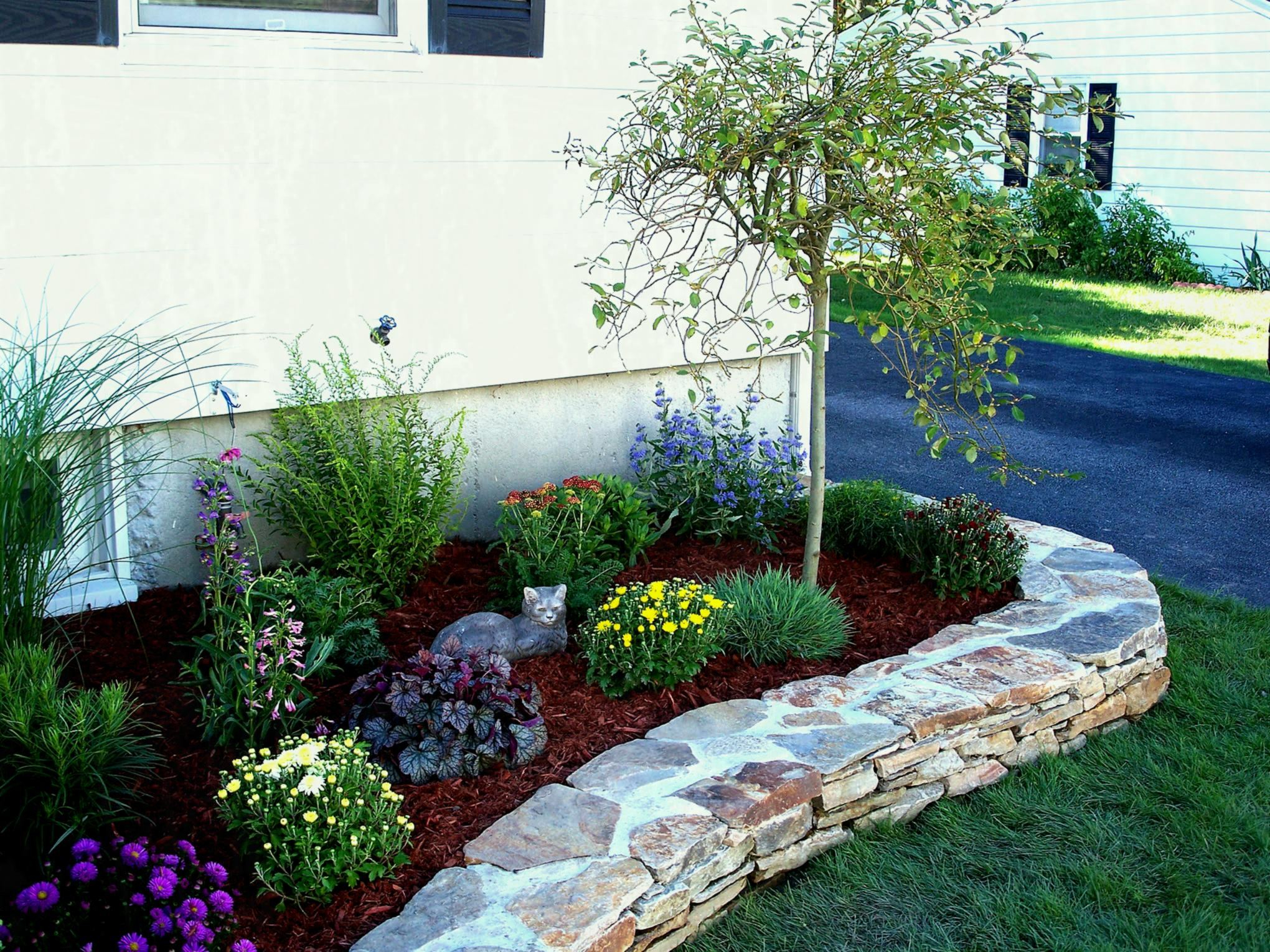 Landscaping Incredible Front Yard Landscape Ideas For Outdoor within 13 Smart Concepts of How to Craft Backyard Landscaping Ideas With Stones