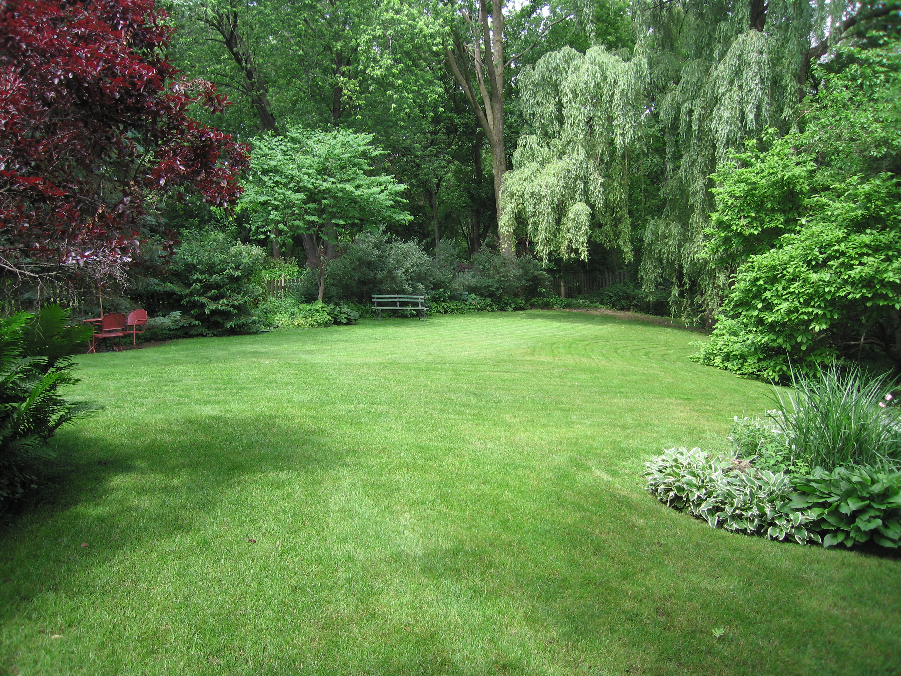 Large Backyard Landscaping Ideas Very Large 10000 Sq Ft Half Acre pertaining to Large Backyard Ideas