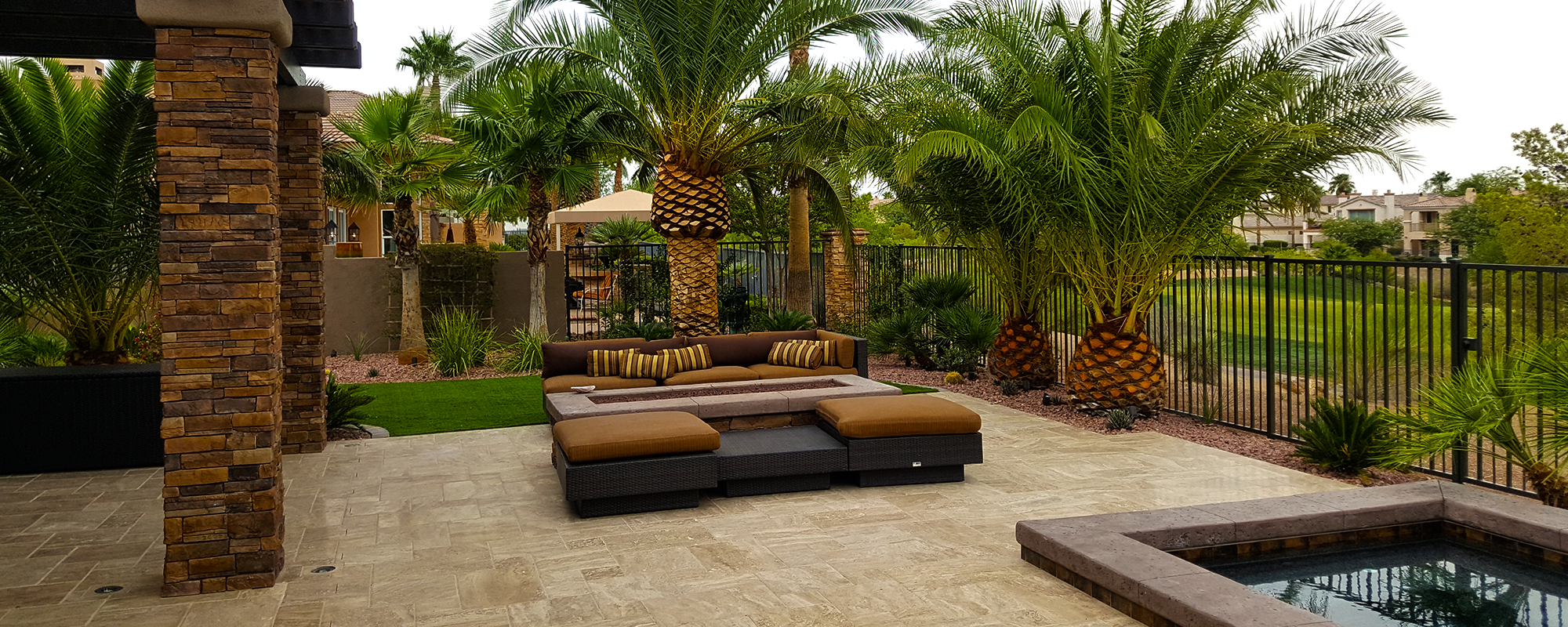 Las Vegas Landscape Company Maintenance And Design inside 15 Some of the Coolest Concepts of How to Improve Backyard Landscapers