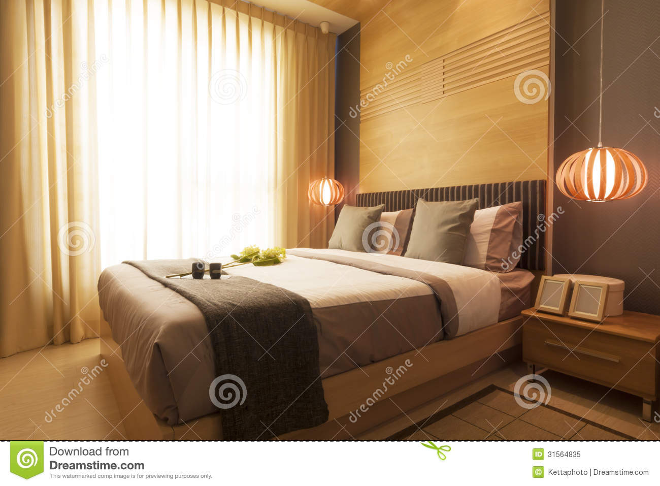 Luxury Modern Bedroom Stock Image Image Of Japanese 31564835 throughout 10 Some of the Coolest Designs of How to Improve Modern Japanese Bedroom