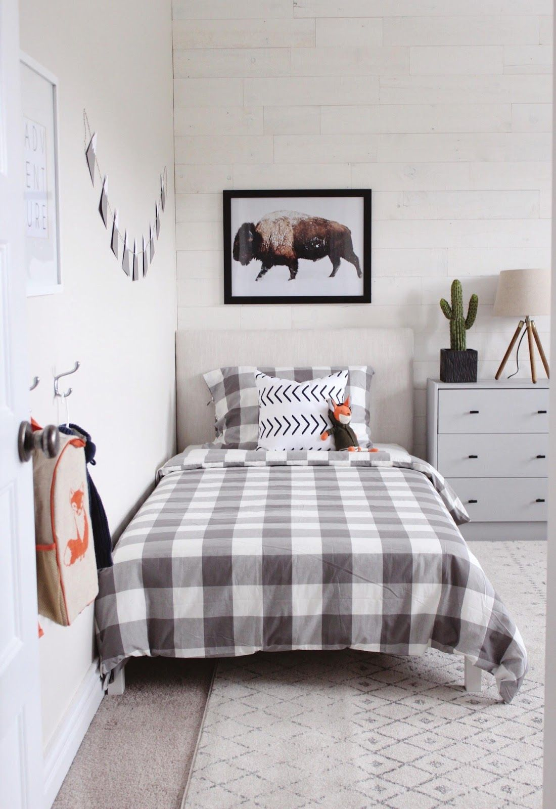 Modern Rustic Boys Bedroom One Room Challenge The Reveal In 2019 within 13 Some of the Coolest Ideas How to Upgrade Modern Boys Bedroom