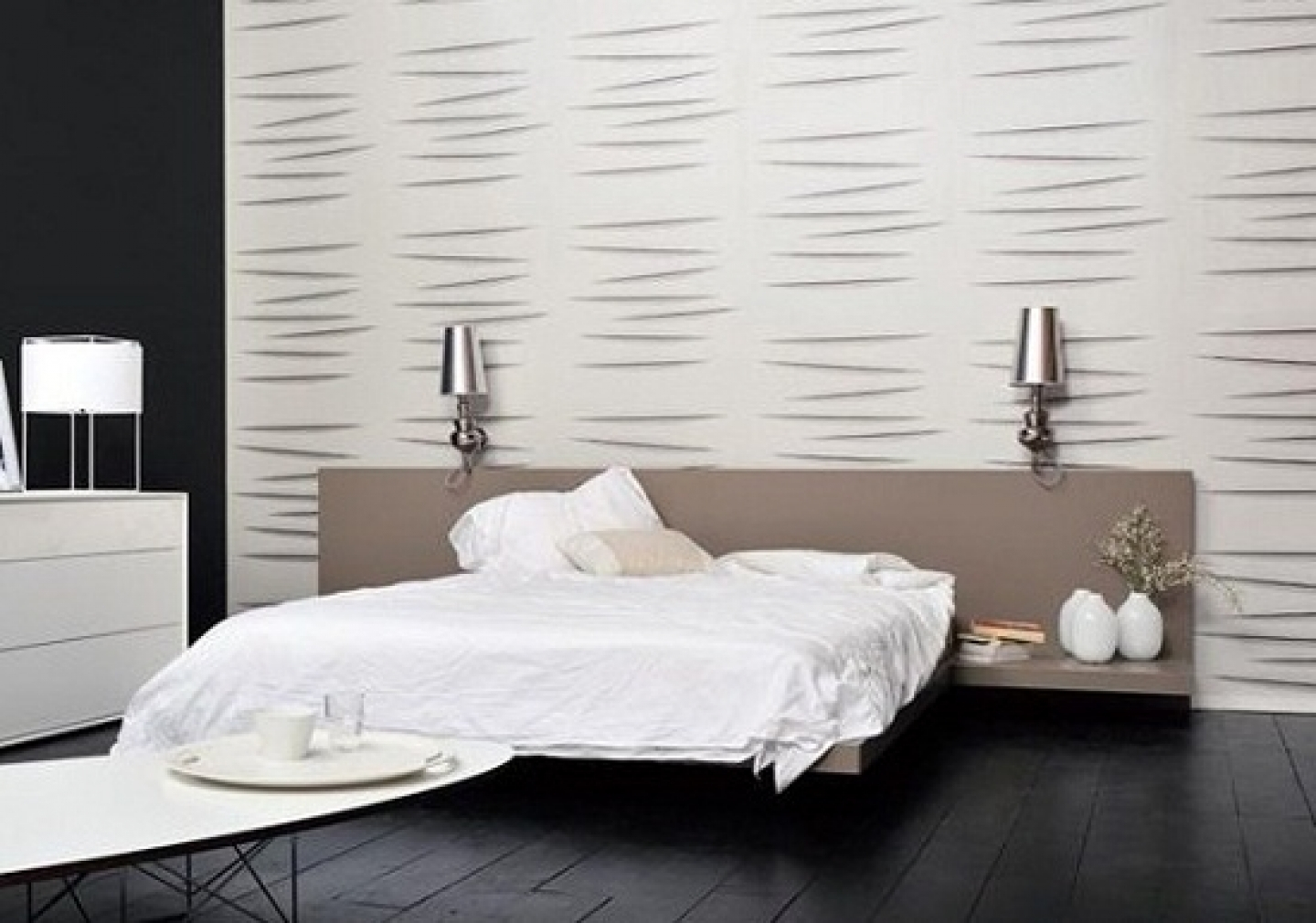 Modern Wallpaper For Bedroom Wallpapersafari pertaining to Modern Wallpaper For Bedroom