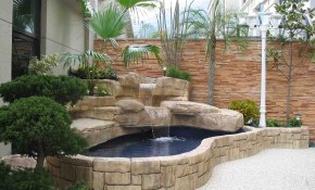Natural Gas Fire Pit Ideas For Comfortable Backyard Sitting Area with regard to 15 Awesome Ways How to Upgrade Backyard Fish Pond Ideas