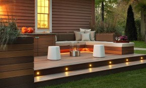 Natural Outdoor Deck Ideas The New Way Home Decor within 12 Genius Tricks of How to Improve Backyard Decking Ideas