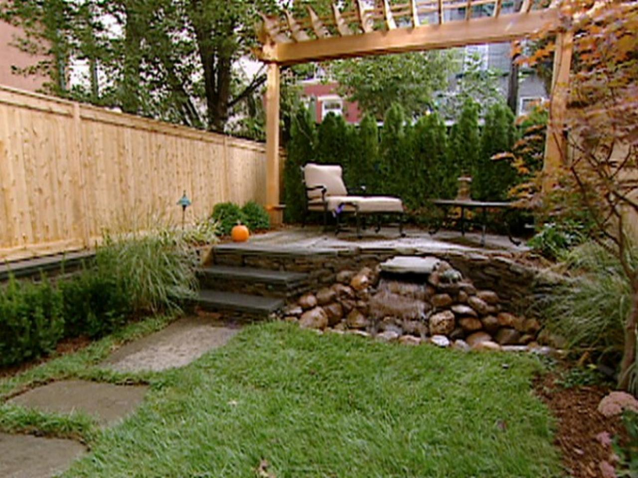 New Landscaping Ideas For Small Yards Outdoor Design York House inside 10 Clever Initiatives of How to Makeover Backyard Garden Designs And Ideas