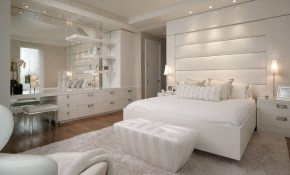 New York Penthouse Pepe Calderin Design White Modern Bedroom regarding White Modern Bedroom