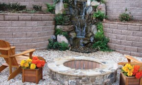 Outdoor Fountain Design Water Fountains Wall Large Patio Gardens throughout 13 Smart Initiatives of How to Craft Backyard Water Fountains Ideas