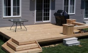Outdoor Grabbing Exterior Beauty With Small Backyard Deck Ideas for 15 Clever Initiatives of How to Craft Simple Backyard Deck Ideas