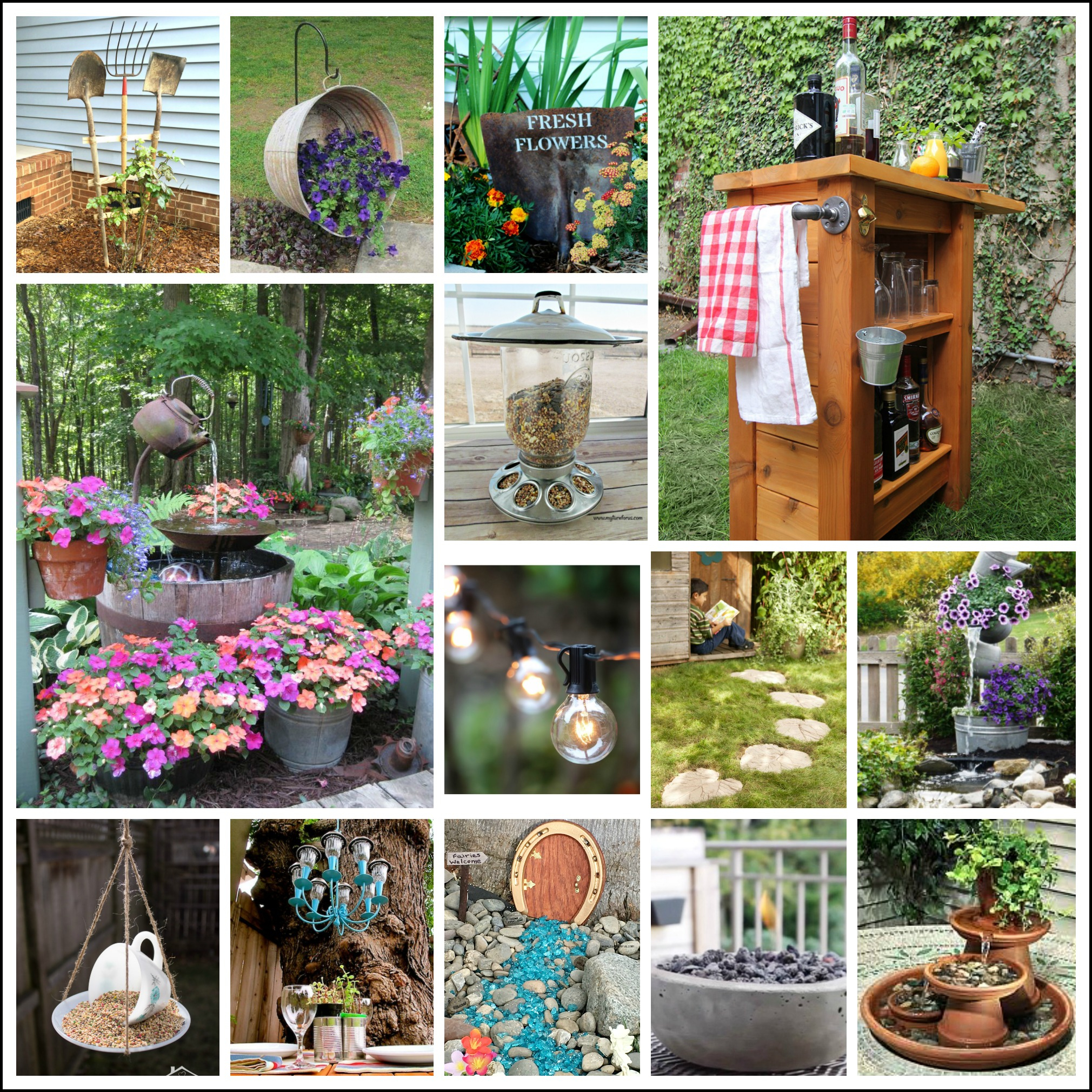 Outdoors Truly Enjoyable Summertime Ventures With Diy Backyard for 14 Clever Concepts of How to Build DIY Backyard Landscape Design