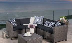 Patio Furniture Find Great Outdoor Seating Dining Deals Shopping throughout 10 Smart Designs of How to Make Chelsea 3 Piece Living Room Set Black