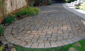 Paver Patio Design Ideas Paver Patio Designs With Fireplace Home regarding 11 Some of the Coolest Initiatives of How to Craft Backyard Ideas With Pavers
