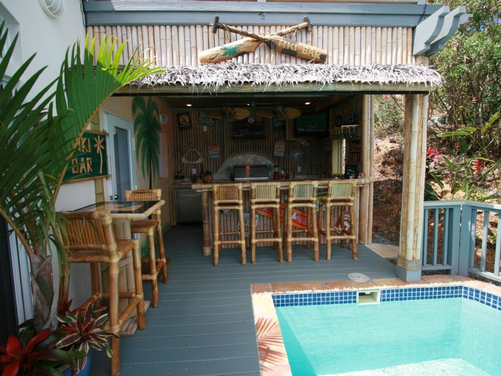 Perfect Home Tiki Bar Ideas Kimberly Porch And Garden Elegant within Backyard Tiki Bar Ideas